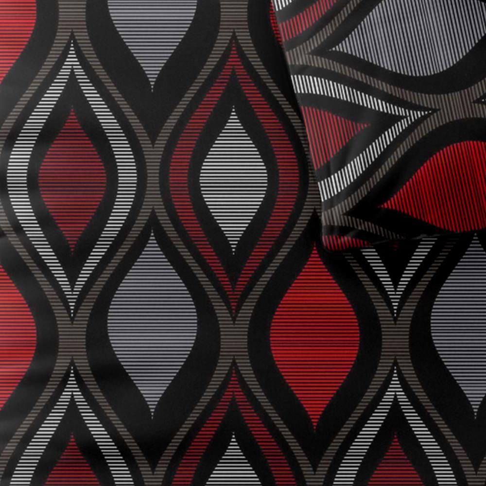 microfaser bettw sche bettgarnitur 135x200 i 155x220. Black Bedroom Furniture Sets. Home Design Ideas
