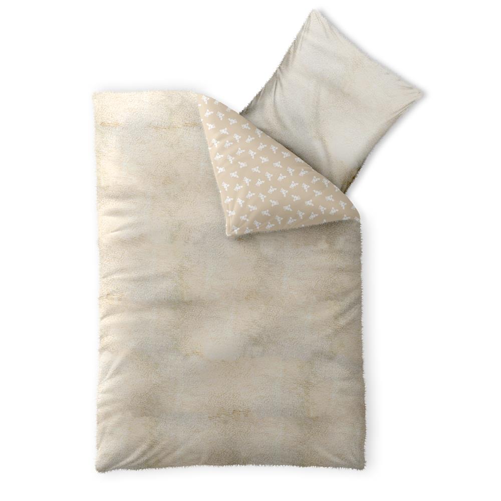 bettw sche garnitur nicki lammfell lambskin wende winter reissverschlu fantasia ebay. Black Bedroom Furniture Sets. Home Design Ideas