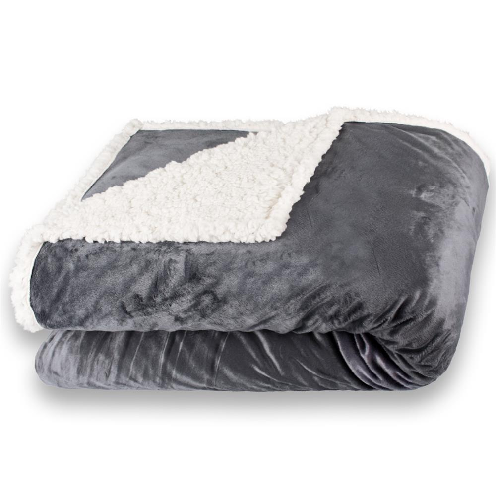 kuscheldecke wohndecke tagesdecke decke sofa lammfell uni sterne elch fantasia ebay. Black Bedroom Furniture Sets. Home Design Ideas