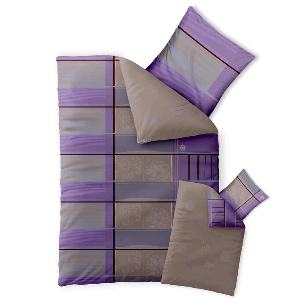 baumwolle bettw sche garnitur einzelbett 2 teilig 4 teilig 155x200 ko fashion. Black Bedroom Furniture Sets. Home Design Ideas