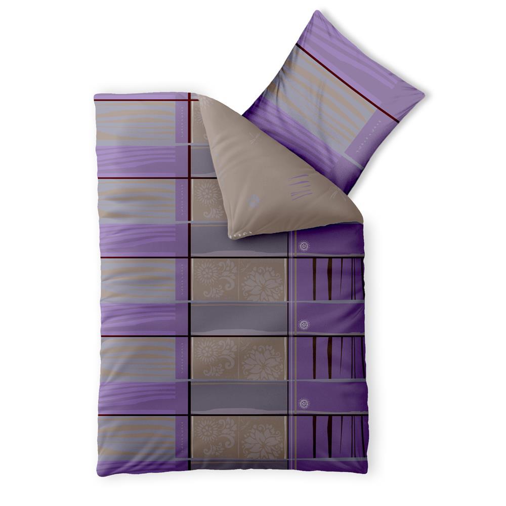 bettw sche garnitur baumwolle 135x200 einzelbett 2 tlg 4. Black Bedroom Furniture Sets. Home Design Ideas