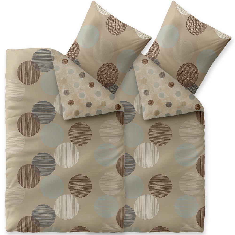 bettw sche garnituren bettbez ge winter 155x220 microfaser fleece kotex style ebay. Black Bedroom Furniture Sets. Home Design Ideas